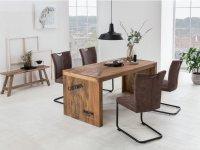 Esstisch Hankey mit 4 Stühlen Kenton
