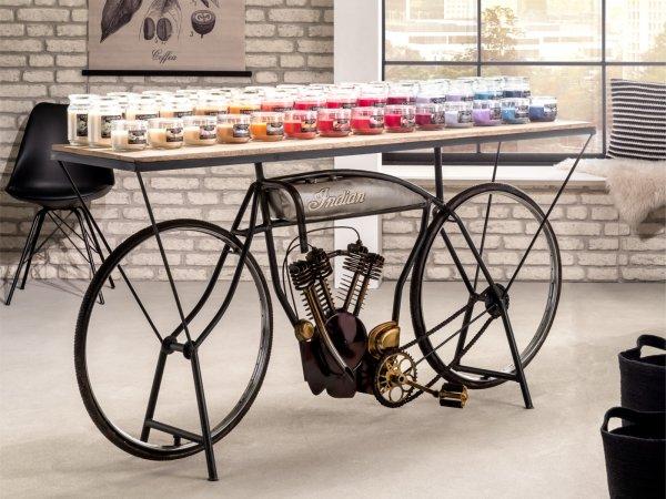 Präsentationstisch Indian Bike
