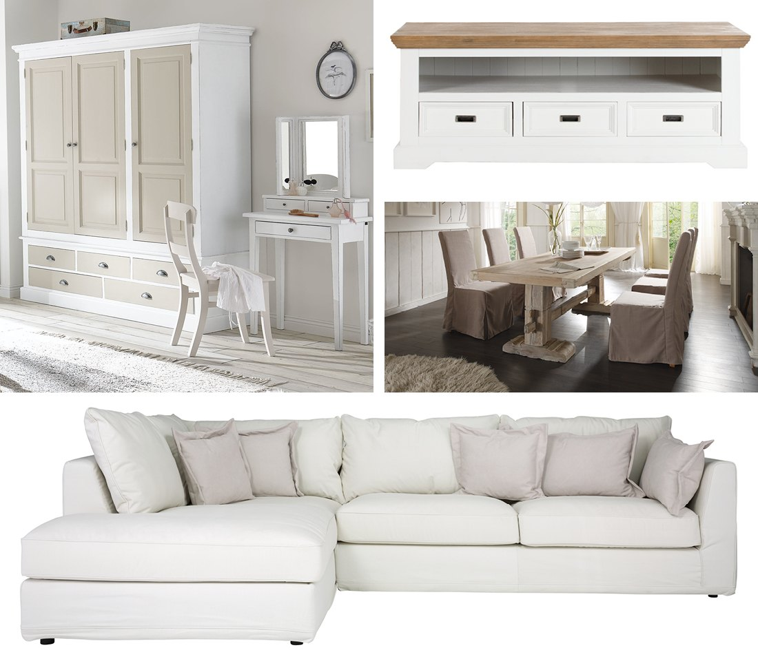 Landhausstil Möbel Einrichtung Wie Im Landhaus Massivum