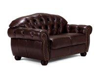 Sofa Chesterfield Hereford 2-Sitzer Echtleder