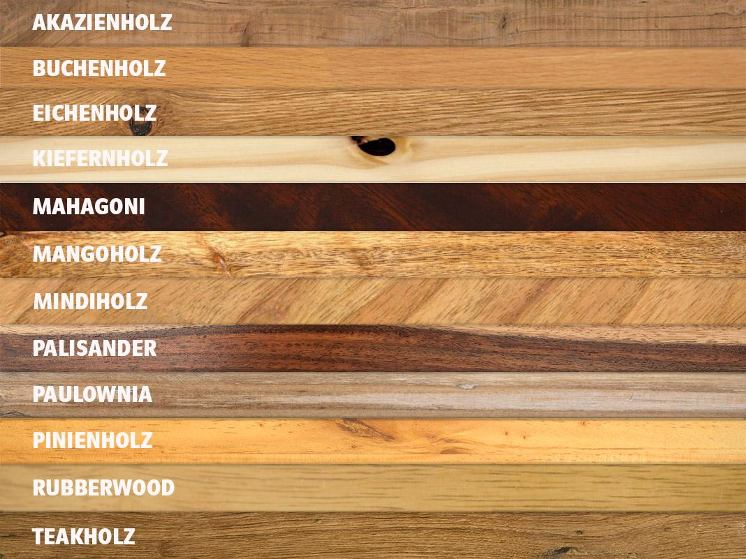 Holzmöbel In Harmonierenden Holzarten Kombinieren