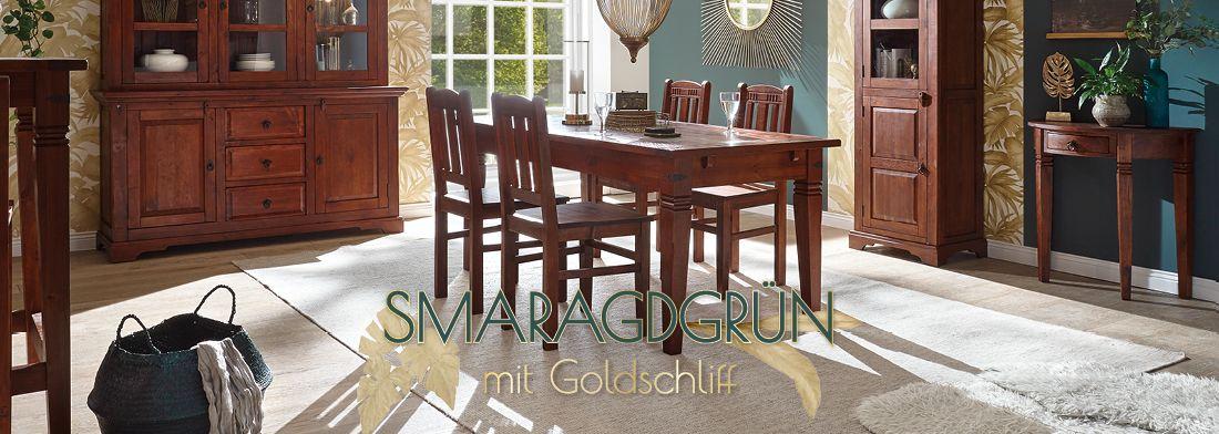 Braune Möbel Kombinieren Grün Kolonialfarben Massivum