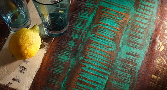 Tische Aus Recyceltem Holz