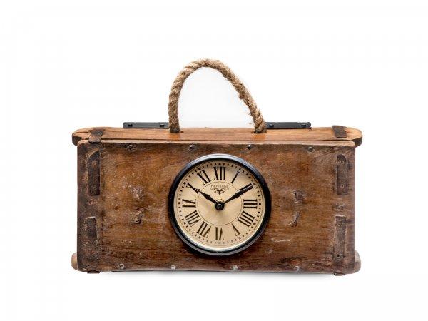 Uhr in Ziegelform