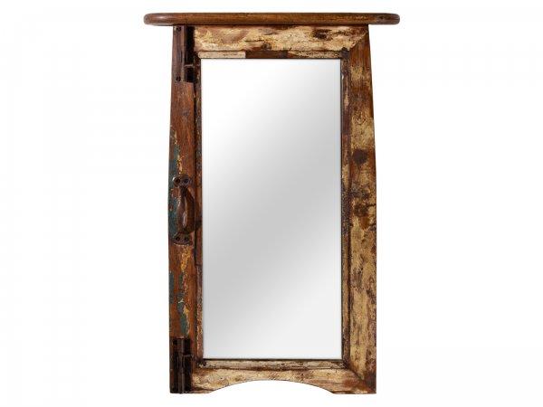 Spiegel Fenster Altholz
