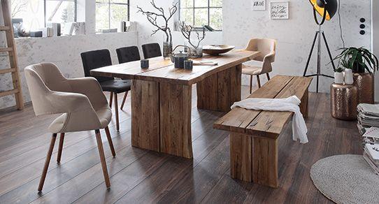 Eichenholz Möbel Als Essgruppe