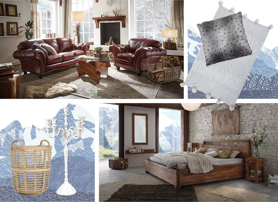 chalet stil m bel im alpen look massivum. Black Bedroom Furniture Sets. Home Design Ideas