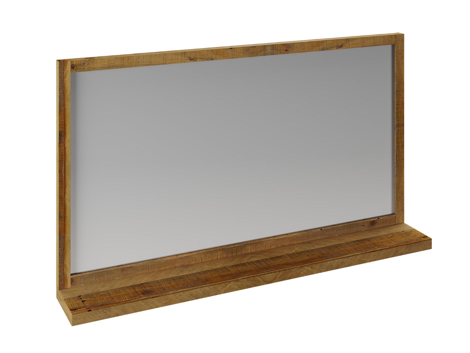 Spiegel mit Ablage Wandspiegel Badezimmerspiegel Flurspiegel Pune Badmöbel
