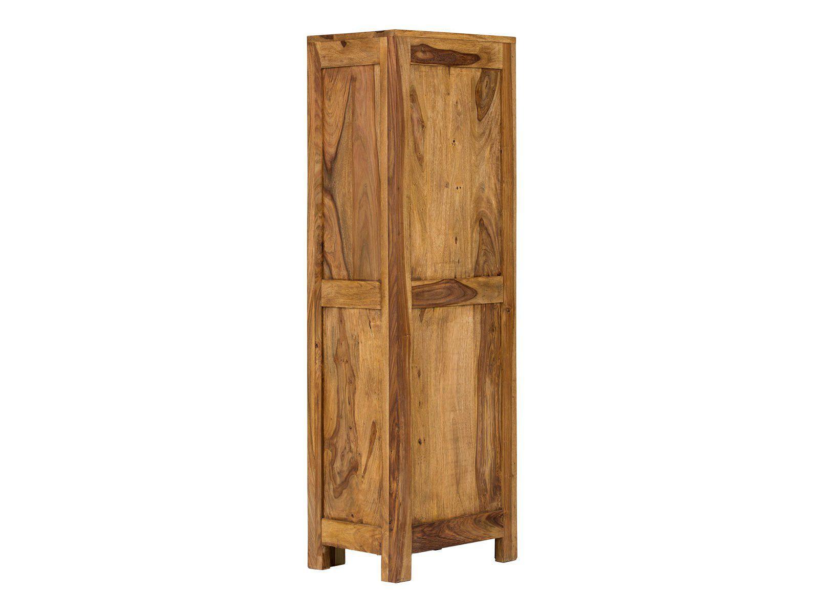 hochschrank stark bad aus massivem palisanderholz 130cm. Black Bedroom Furniture Sets. Home Design Ideas