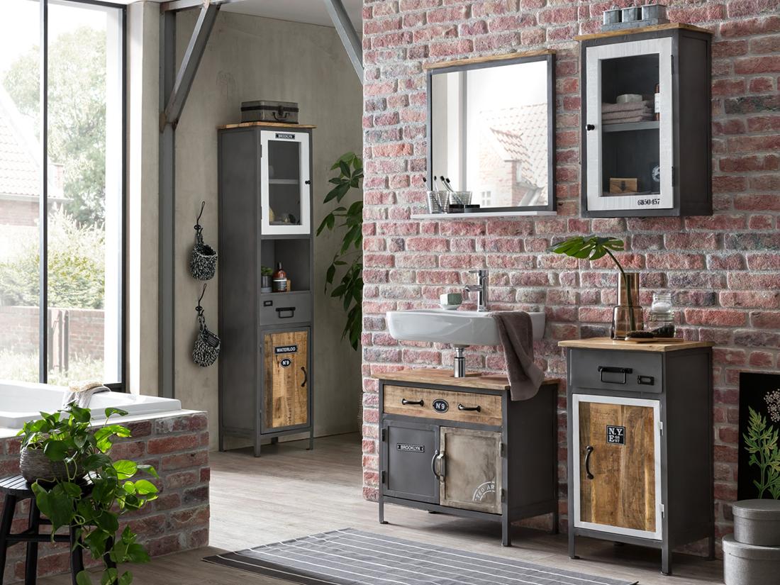 FACTORY STYLE - Rustikale Möbel für den urbanen, schnörkellosen Wohntrend.