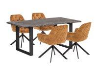 Esstisch Bullwer mit 4 Stühlen Carlton