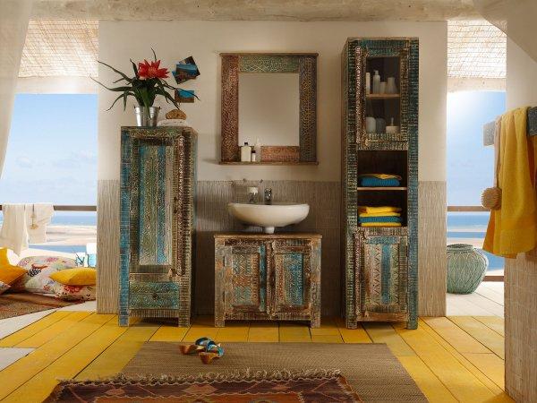 Badmöbel Set Blue Lagoon 4-teilig