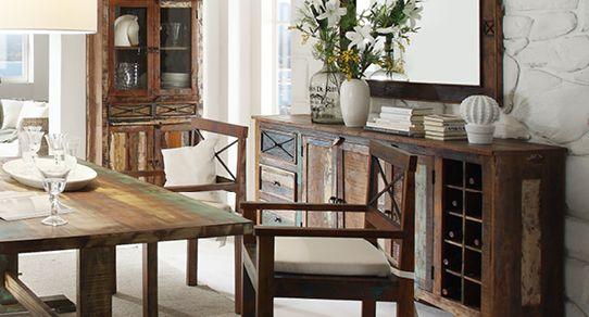 Wunderbar Esszimmermöbel Aus Recyceltem Holz