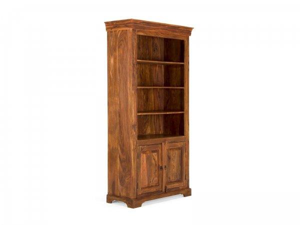 Bücherschrank Merlin mit 2 Holztüren
