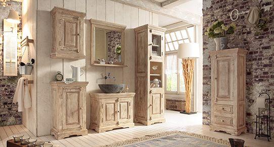 Mangoholz Möbel Fürs Badezimmer