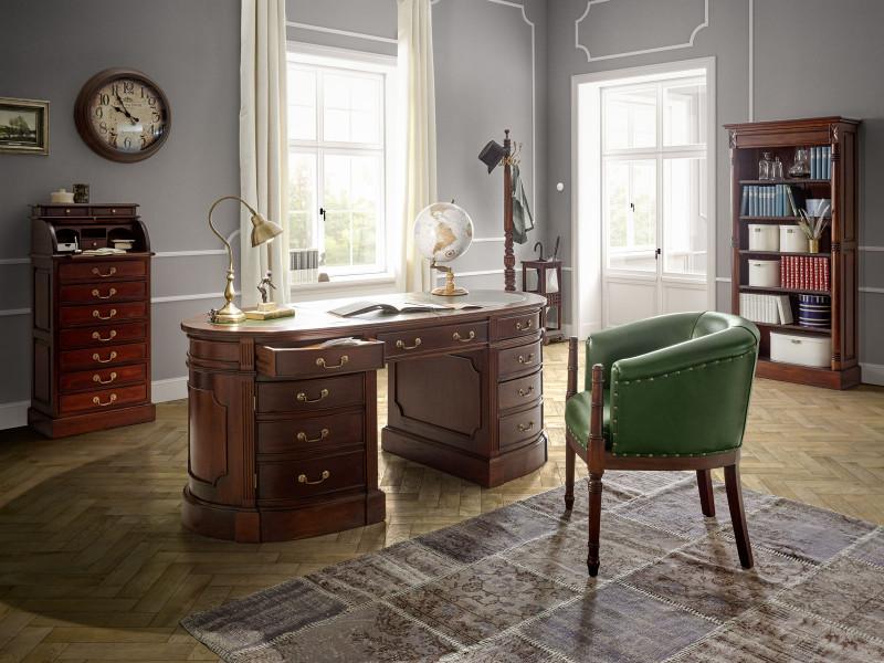 Schreibtisch Cambridge oval