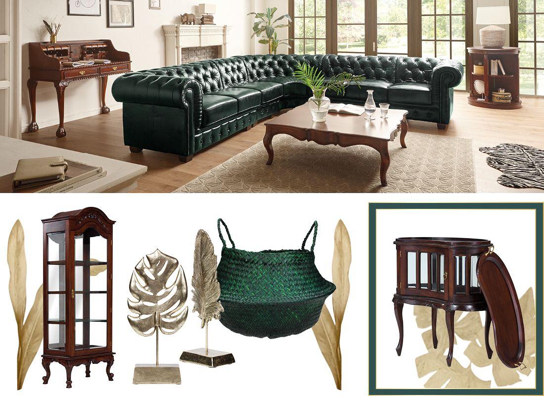 Kolonial Grün Möbel Im Kolonialen Stil Massivum