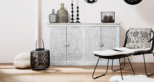 Relativ Gekalktes Holz erkennen: White Wash bei Möbeln » massivum FX84